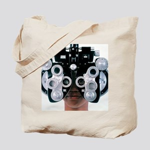 Eye examination Tote Bag