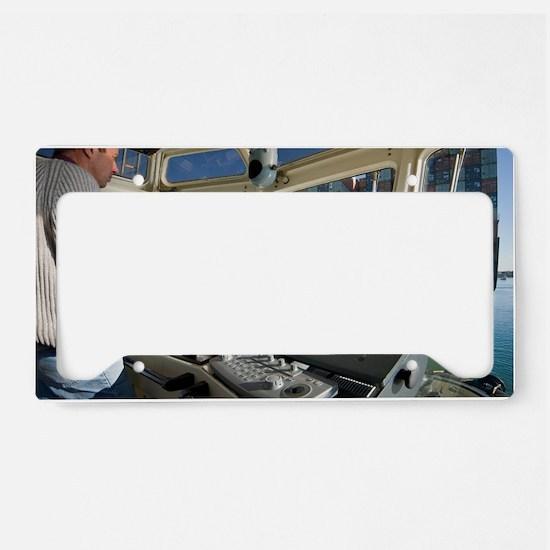 Tugboat License Plate Holder