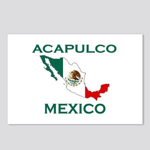 Acapulco, Mexico Postcards (Package of 8)