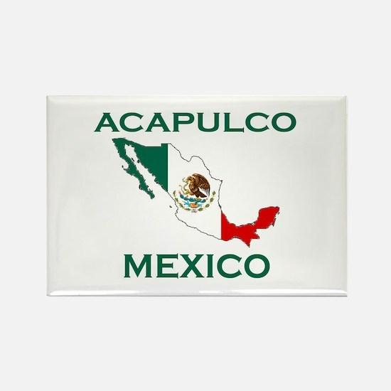 Acapulco, Mexico Rectangle Magnet
