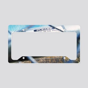 Trans-Alaska oil pipeline License Plate Holder