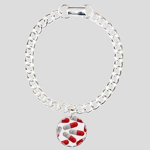 Drug capsules Charm Bracelet, One Charm