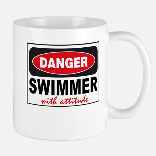 Swimmer with Attitude Mugs