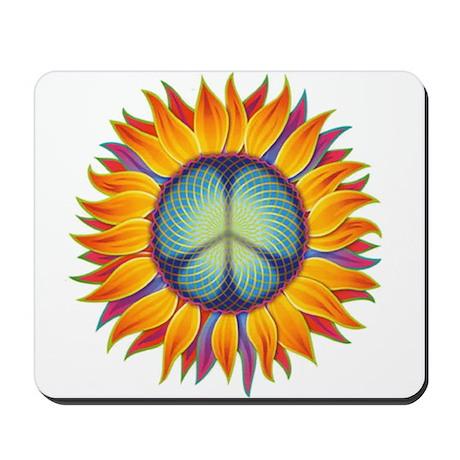 Peace Flower Mousepad