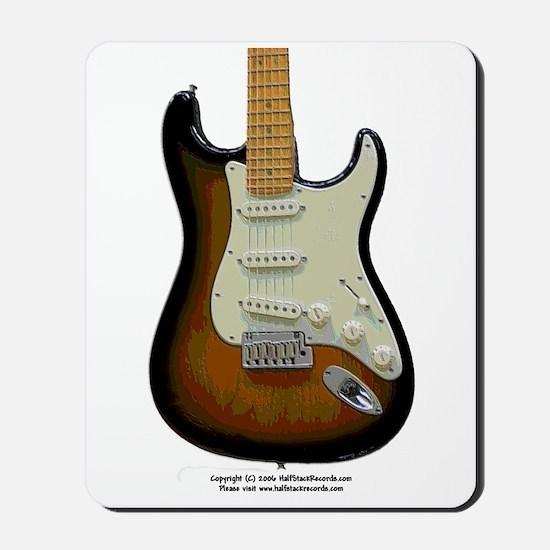 """Topography"" Guitar Mousepad"