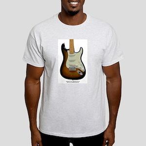 """Topography"" Guitar Light T-Shirt"