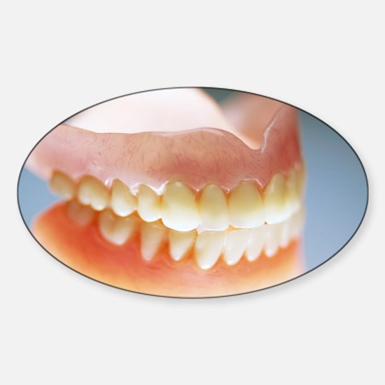 False teeth Sticker (Oval)