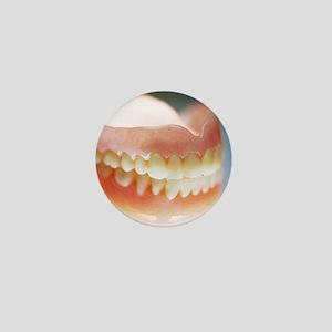 False teeth Mini Button