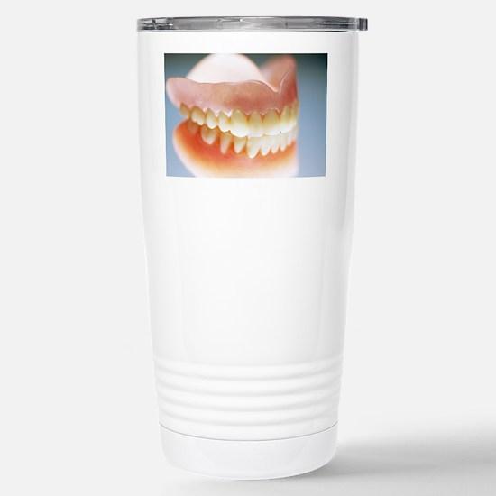 False teeth Stainless Steel Travel Mug