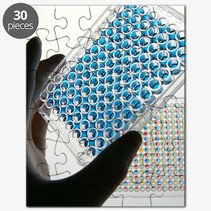 ELISA test plate Puzzle