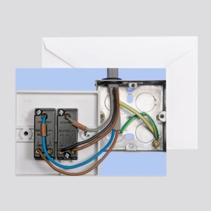 Two-way light switch Greeting Card