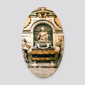 Galileo's tomb, Florence, Italy Oval Car Magnet