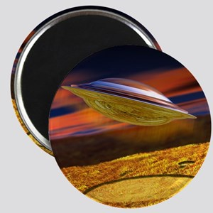 UFO and crop circles Magnet