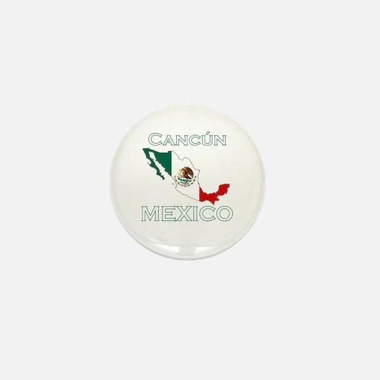 Cancun, Mexico Mini Button