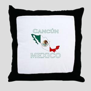 Cancun, Mexico Throw Pillow