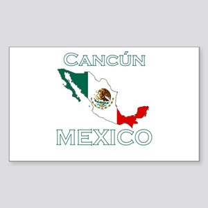 Cancun, Mexico Rectangle Sticker