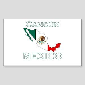 Cancun, Mexico Rectangle Sticker
