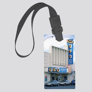 UFO Museum, Roswell, New Mexico Large Luggage Tag