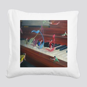 Filling The Air With Heart An Square Canvas Pillow