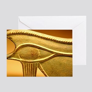 Eye of Osiris Greeting Card