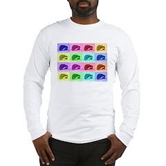 Hedgehog Hues Long Sleeve T-Shirt