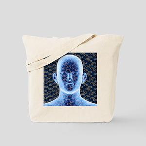 Genetic code Tote Bag