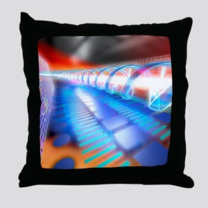 Genetic research Throw Pillow
