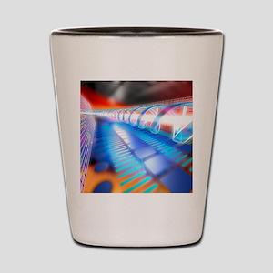 Genetic research Shot Glass