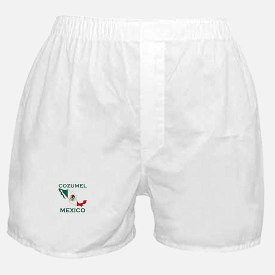 Cozumel, Mexico Boxer Shorts