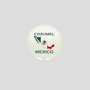 Cozumel, Mexico Mini Button
