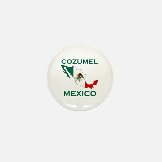 Cozumel, Mexico Mini Button
