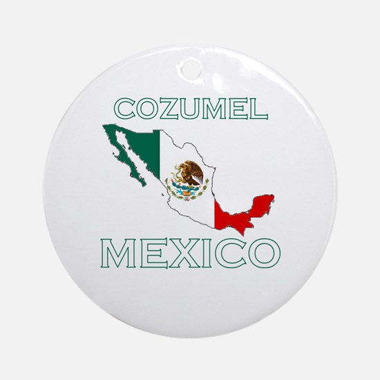 Cozumel, Mexico Ornament (Round)