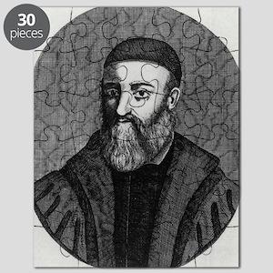Gabriele Falloppio, Italian anatomist Puzzle