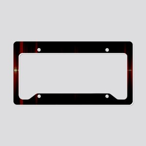 Voice recognition License Plate Holder