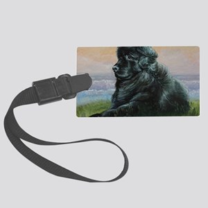 Newfoundland Dog Large Luggage Tag