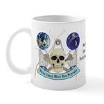 Masonic Pride and Skull Emblems Mug