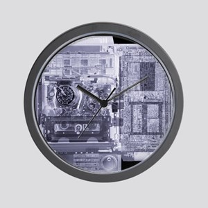 Video recorder, simulated X-ray Wall Clock