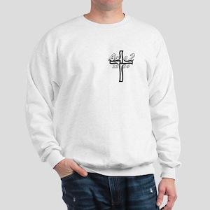 Acts 2:22-24 Cross Sweatshirt