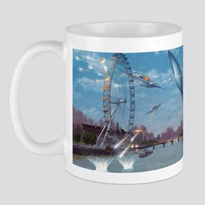 War of the Worlds, artwork Mug