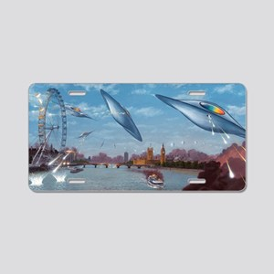 War of the Worlds, artwork Aluminum License Plate