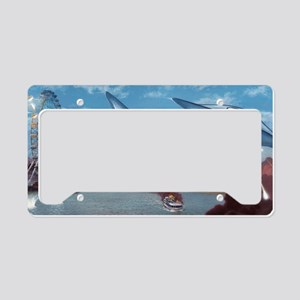 War of the Worlds, artwork License Plate Holder