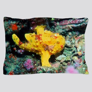 Warty frogfish Pillow Case