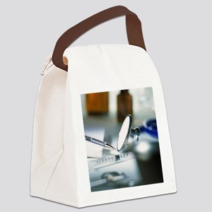 General practitioner's equipment Canvas Lunch Bag