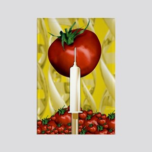 Genetically engineered tomatoes Rectangle Magnet