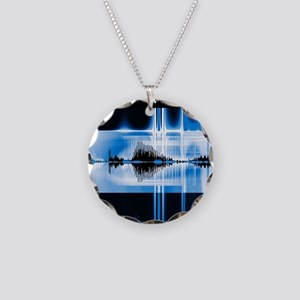 Voice recognition Necklace Circle Charm