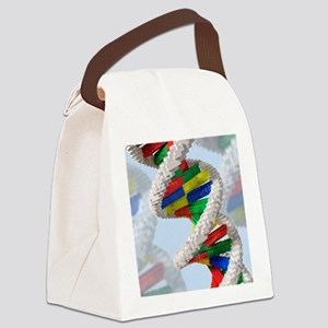Genetic engineering, conceptual a Canvas Lunch Bag