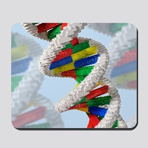 Genetic engineering, conceptual artwork Mousepad