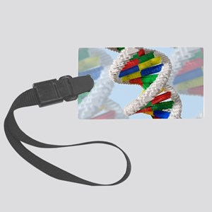Genetic engineering, conceptual  Large Luggage Tag