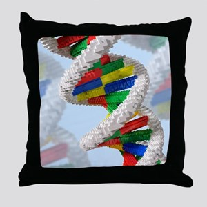Genetic engineering, conceptual artwo Throw Pillow