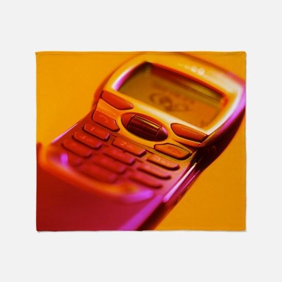 WAP mobile telephone Throw Blanket